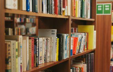 図書館と本