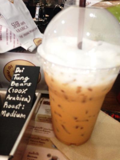 甘めのミルクたっぷり!濃いめのコーヒーとの最強タッグ。