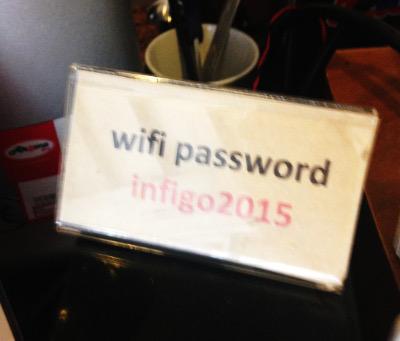 infigocafeのWi-Fiパスワード