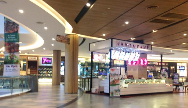 MAYA4階には日本食もある